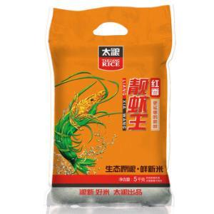 太粮红香靓虾王油粘米5kg 39.9元