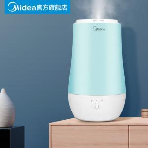 美的上加水加湿器家用静音大容量卧室空调大雾量喷雾器空气净化器 168元