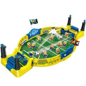 小黄人桌上冰球娃娃机桌上足球弹珠机篮球机3-6岁宝宝亲子互动迷你抓娃娃机儿童玩具男孩玩具女孩礼物小黄人桌上足球KD-6395 35.67元
