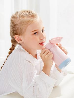 Face儿童保温杯子带吸管两用316不锈钢宝宝小学生幼儿园便携水壶 59元