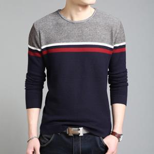 勋伯格 秋季男士休闲毛衣针织衫     ¥29