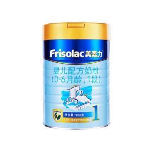 美素力婴儿配方奶粉1段罐装900g 209元