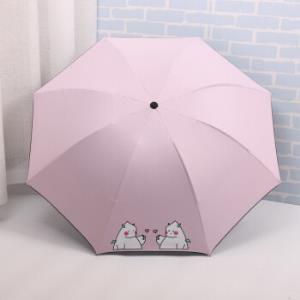 FaSoLa折叠黑胶防紫外线晴雨伞 24.1元