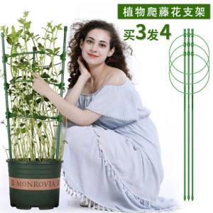 花架爬藤架花支架花卉铁线莲高45cm 3.86元