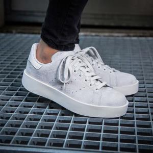 adidas阿迪达斯STANSMITHBOLDW三叶草经典女款板鞋CG3776*2件526元(合263元/件)