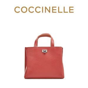 18新品 COCCINELLE/可奇奈尔TAHLIA斜挎包女小号牛皮手提包单肩包 1620元