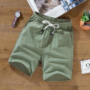 男士短裤子夏季棉麻5分五分裤  券后¥19.9