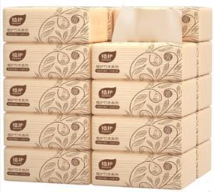 植护 本色抽纸 家庭装 4层*60抽*10包 ¥7.9