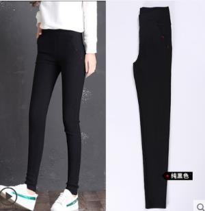 打底裤外穿小脚女裤 黑色夏款 ¥19.9