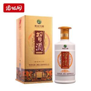 酒仙网53度金质习酒500ml贵州酱香型高度国产白酒 208元
