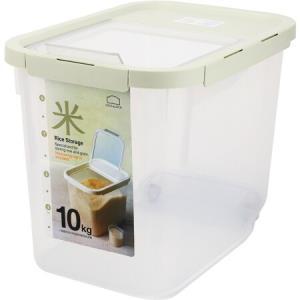 乐扣乐扣米桶五谷杂粮箱大容量滑轮翻盖米箱10kgHPL561MIT薄荷色*3件 193.71元(合64.57元/件)