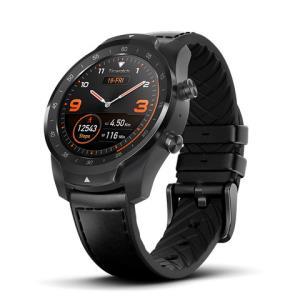 TicWatchPro智能运动手表蓝牙版幻影黑续航30天成人wifi计步器GPS运动手表心率支付创新双层屏安卓苹果ios1199元