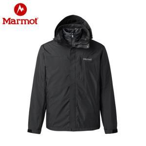 Marmot/土拨鼠19春夏羽绒冲锋衣三合一防风防水保暖_R47390 1099元