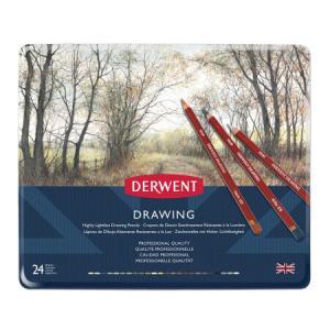 得韵(DERWENT)Drawing写生肖像自然色彩铅调色彩铅24色*5件 609元(合121.8元/件)
