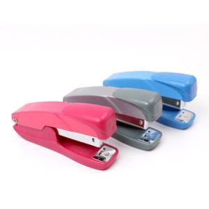 益而高小号订书机省力型玲珑型经济型订书器财务办公装订可订20张207S颜色随机*5件 24.4元(合4.88元/件)