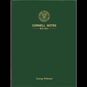 乔先生康奈尔笔记本子文具A4/160页加厚高效学习工作方格错题英语课堂考研读书A4康奈尔横线墨绿色*5件 74.5元(合14.9元/件)