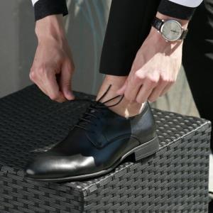 京东HY1688-Y7男士商务正装皮鞋德比鞋 269元包邮(用券)