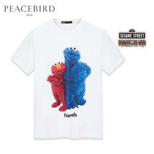 PEACEBIRD太平鸟B2DA92262男士圆领T恤 238元包邮