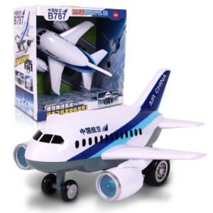 乐飞儿童玩具飞机模型客机耐摔灯光益智玩具益智声光飞机5911*2件 115.2元(合57.6元/件)