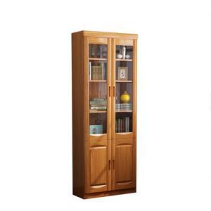GXIONG公熊大容量实木书柜二门 1370元包邮(需用券)