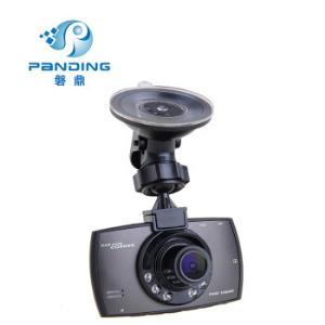 磐鼎P602C送读卡器高清1080P红外线夜视记录仪循环摄像.24小时停车监控灰色标配16G内存 199元包邮