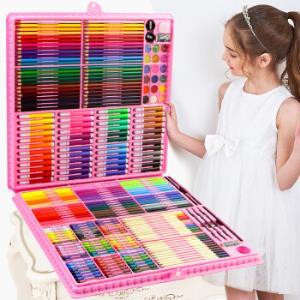 苏漫妮儿童绘画礼盒168件套装 38元(需用券)