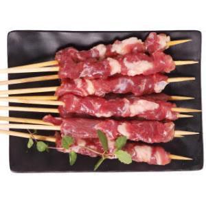 科尔沁 牛肉串 原味 200g 21.9元,可优惠至10.95元