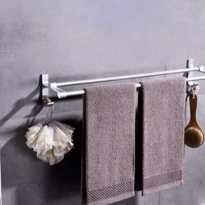 尔沫双杆毛巾架60cm4元包邮(需用券)
