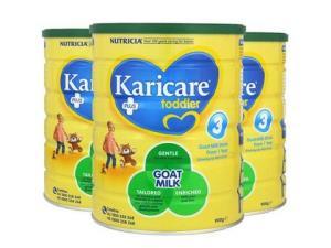 Karicare可瑞康婴儿羊奶粉3段900g3罐813元
