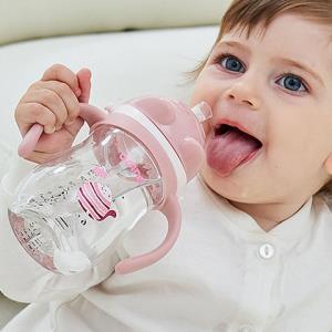 奥鼎康宝宝婴儿防漏吸管水杯14.9元(需用券)