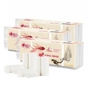 心相印無芯卷紙紅悅錦鯉系列衛生紙3層*75g*36卷*5件112.92元(合22.58元/件)