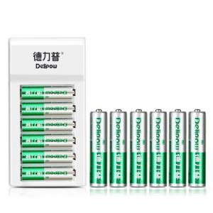 Delipow德力普5号/7号充电电池4节5.9元(需用券)