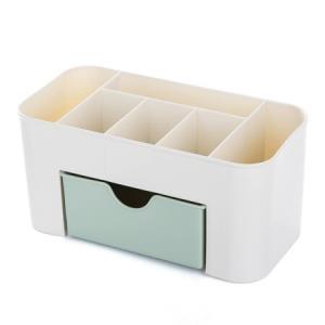HAGGIS桌面化妆品收纳盒带小抽屉 6.9元