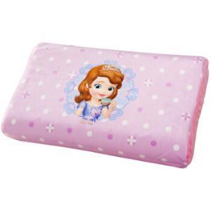 迪士尼(Disney)乳胶枕泰国天然儿童乳胶枕头婴儿枕芯苏菲亚小公主*2件    228元(合114元/件)