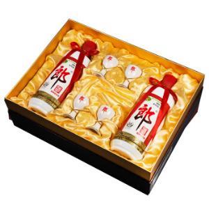 郎酒郎牌郎酒礼盒装53度500ml*2瓶酱香型白酒