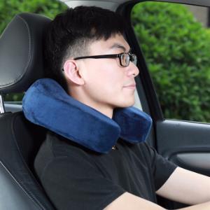 卡饰社汽车头枕便携式记忆棉U型枕车用办公室用颈枕29元包邮(需用券)