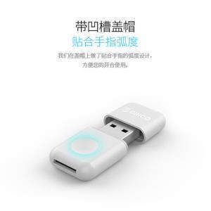 ORICO奥睿科多彩版USB3.0TF卡读卡器18.9元