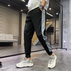 MAISULANG男嘻哈束脚裤九分工装裤*3件157元(合52.33元/件)