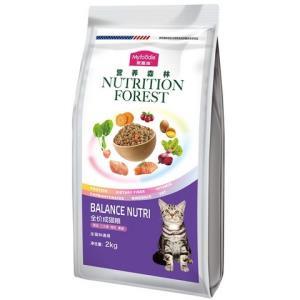 MYFOODIE麦富迪营养森林成猫粮2kg36.75元