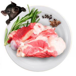 普甜・黑真珠棒骨1000g/袋散养黑土猪肉生鲜骨头筒子骨煲汤食材82.9元