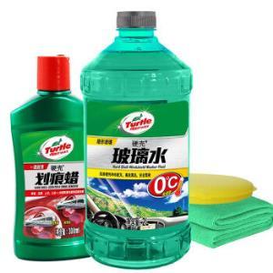 龟牌(TurtleWax)汽车硬壳玻璃水划痕修复汽车用品套装*4件 75.2元(合18.8元/件)