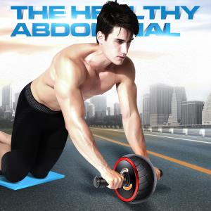 凯速(KANSOON) 健身三件套 健腹轮俯卧撑瑜伽垫套装  券后49元