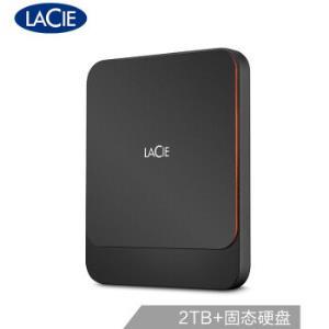 LaCie莱斯PortableSSD移动固态硬盘2TB 3182元