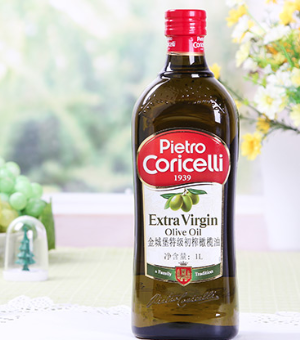 PietroCoricelli金城堡特级初榨橄榄油1L*3件 149.7元(需用券,合49.9元/件)