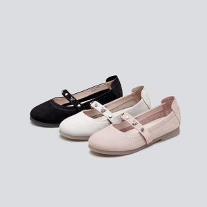 HushPuppies暇步士D1Q03AQ9女士浅口玛丽珍鞋 438元(需用券)