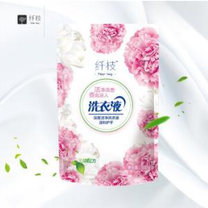 京東PLUS會員:纖枝洗衣液薰衣草香型500g*3袋1.1元包郵(需用券)