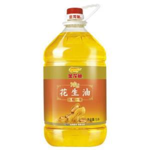 金龙鱼 压榨 浓香花生油 5L*2件