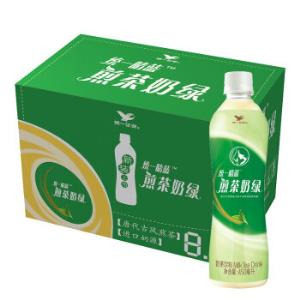 统一阿萨姆煎茶奶绿450ml*15瓶整箱精选唐式古风煎茶*3件 131.73元(需用券,合43.91元/件)