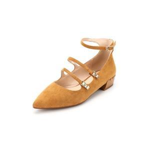 红蜻蜓专柜正品新款女鞋尖头时尚串色个性一字扣女单鞋B95211 74.4元包邮(需用券)