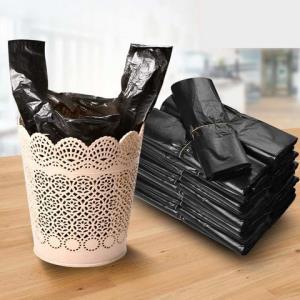 东正手提式垃圾袋50个加厚型 3.89元包邮